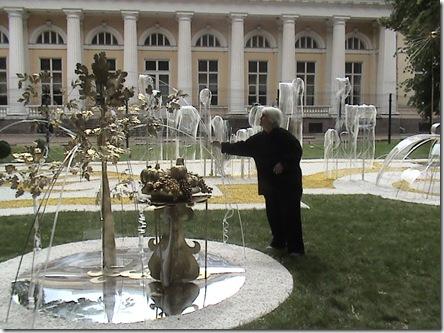 Фото6. Ксения Александровна среди соей композиции