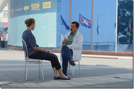 Интервью для телевидения с Вадимом Абдрашитовым