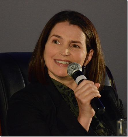 Джулия Ормонд на встрече со зрителями