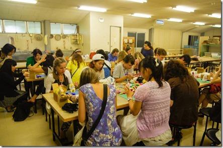 На фабрике керамики