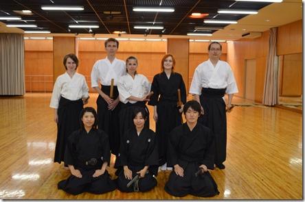 Тренировка по йайдо