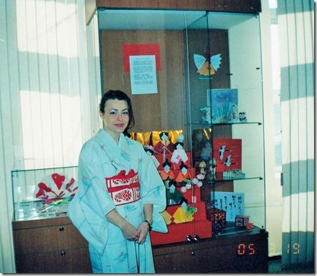 5. Анна Шапкина. 2005 г. Выставка оригами к празднику девочек
