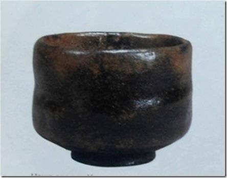 Чайная чашка в стиле Раку, изготовленная Т. Тодзиро