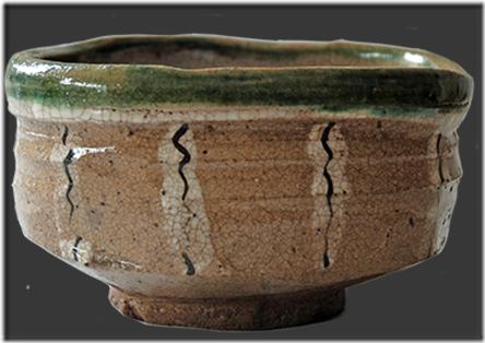 Чайная чашка, стиль Орибэ